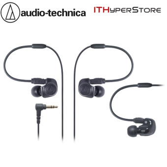 Harga Audio-Technica ATH-IM50 Dual Symphonic Inner Ear Monitor Headphones - Black