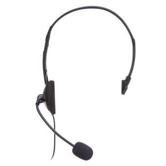 Harga Wired Headset Microphone for Sony PlayStation 4 PS4 Game (Black)
