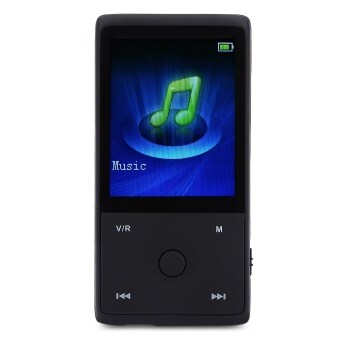 Harga HOTT MU1036 Bluetooth Portable 1.8 inch FM Radio 8GB Memory MP3 Lossless Music Player (Black)