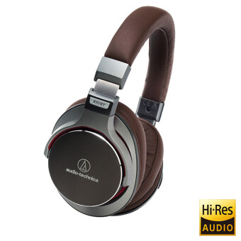 Harga Audio-Technica ATH-MSR7 SonicPro High-Resolution Audio Headphones (Gun Metal)