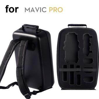 Harga Carbon Fiber Texture Hardshell Carry Backpack for DJI Mavic Pro