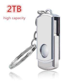Harga Metal rotary usb flash drive 2TB plate usb flash pen drive stick USB 2.0 U Disk