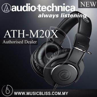Harga Audio-Technica M20x Studio Monitor Headphone ( ATH-M20X )
