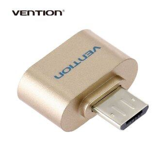 Harga Vention A07 Series Micro USB 2.0 OTG Data Adapter for Android Smartphone / Tablet