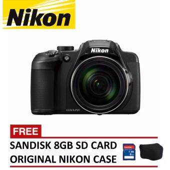 Harga Nikon Coolpix L340 Digital Camera 28x Zoom (Black) + 8GB SanDisk SDHC + Nikon CoolPix Casing (ORIGINAL NIKON MALAYSIA)