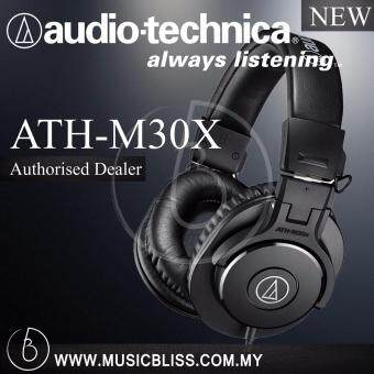 Harga Audio-Technica M30x Studio Monitor Headphone ( ATH-M30X )