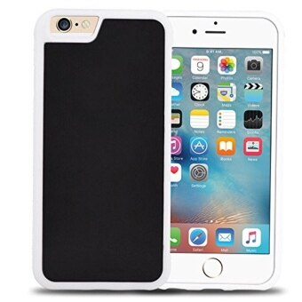 Harga LIKGUS Anti-Gravity Selfie Case Cover Magical Nano Sticky For Apple iPhone 6 / 6s - White