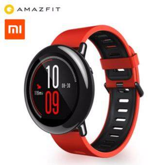 Harga Original Xiaomi AMAZFIT Sports Bluetooth Smart Watch - Red (English Version)