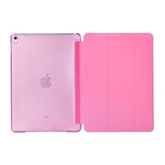 Harga Apple 2016 iPad Pro (9.7) / iPad Air 2 (ipad 6) case, Welink Ultra Slim Smart Cover PU Leather Case for Apple 2016 iPad Pro (9.7) / iPad Air 2 (ipad 6) (Pink)