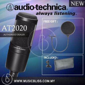 Harga Audio-Technica AT2020 Cardioid Condenser Microphone with Pop Filter (AT 2020)