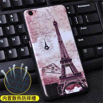 Harga Silica Gel Soft Phone Case for VIVO Y55 (Multicolor)