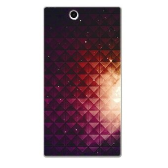 Harga PC Plastic (Fuchsia) light nebula Case for Sony Xperia Z Ultra (Multicolor)