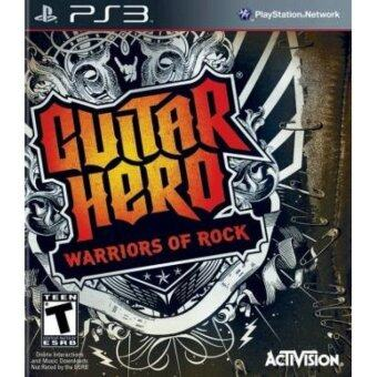 Harga Refurbished PS3 Guitar Hero Warriors Of Rock