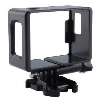 Harga Protective Frame Mount Housing w/ Screw Hardware For SJ4000 SJ6000 wifi (Black)