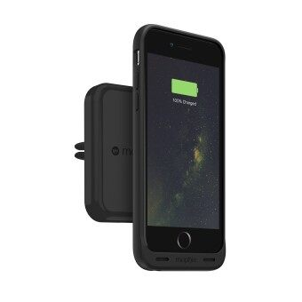 Harga Mophie Wireless Charge Force Car Vent Mount for Mophie Cases with Charge Force Wireless Power (Black)