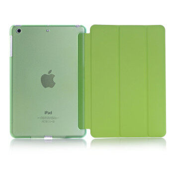 Harga Welink 2 in 1 Apple 2016 iPad Pro (9.7) / iPad Air 2 (ipad 6) case , Tempered Glass + Ultra Slim Smart Cover PU Leather Case For Apple 2016 iPad Pro (9.7) / iPad Air 2 (ipad 6) (Green)
