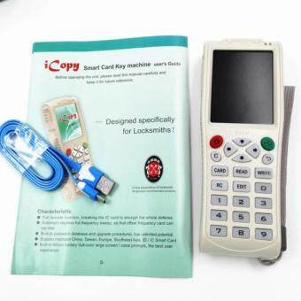 Harga New Arrival English version iCopy 3 Full decode function Smart Card Key Machine RFID NFC Copier IC/ID Reader/Writer Duplicator