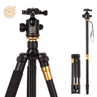 Harga Q999 Tripod To Monopod+Ball Head For Digital SLR DSLR Camera Max Loading 15Kg