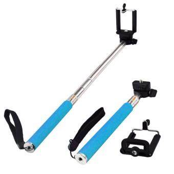 Harga MY Monopod Blue + Water proof Bluetooth Shutter