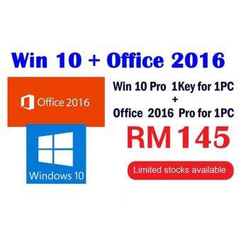 Harga Windows 10 Pro +Office 2016 Pro