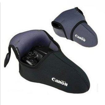 Harga Soft Lens Protector Pouch for Canon Neoprene DSLR (Medium)
