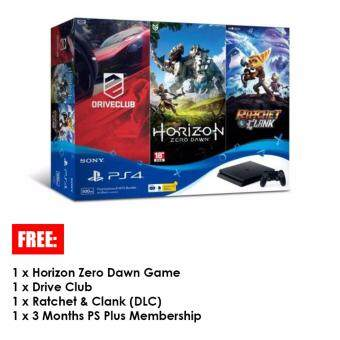 Harga Sony Playstation 4 Slim Hits Bundle 500GB (1 Year Sony Malaysia Warranty)