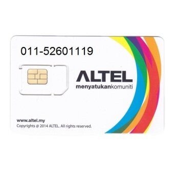 Harga Altel Simcard VIP No 011-52601119