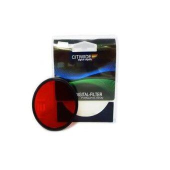 Harga CW 67mm Red Color Effect Filter