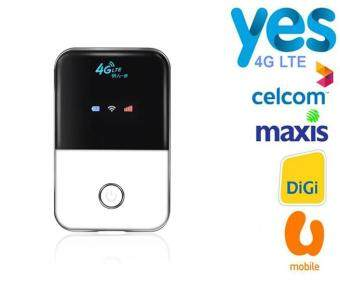 Harga 4G LTE WiFi Router Hotspot WIFI 4G Mifi Car Wireless Router for Celcom,Maxis,Digi