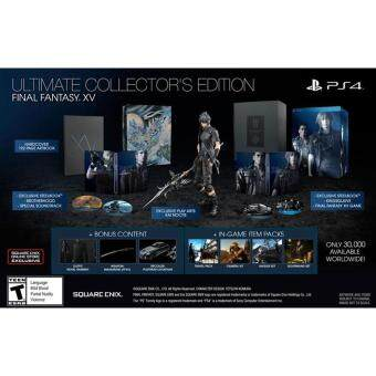 Harga PS4 FINAL FANTASY XV ULTIMATE COLLECTOR EDITION (R3)