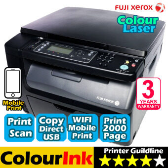 Harga Fuji Xerox DocuPrint CM115W Wifi Colour Laser ( Print Scan Copy )
