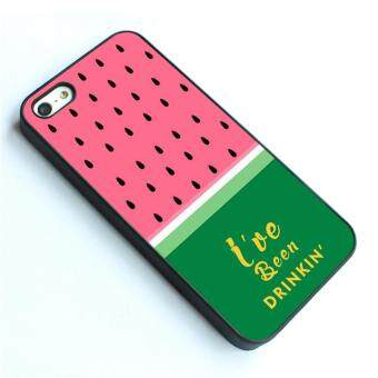 Harga For iPhone 4 / 4s phone case TPU cover Beyonce I have been Drinking Quote Watermelon