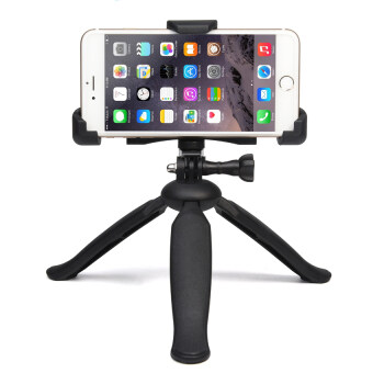 Harga CHOETECH Universal Camera Tripod Cell Phone Stand Mount Holder Fit Any Size Smartphones and Cameras (Black)