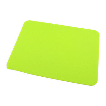 Harga Silicone Anti-Slip Mousepad Slim Gel Mouse Pad Mat (Green)
