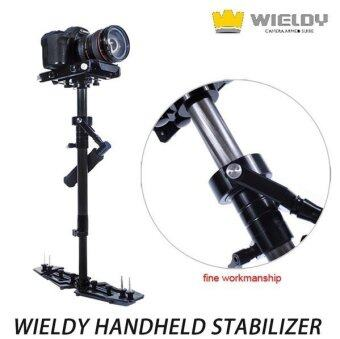 Harga WIELDY 1-5kg Carbon Fiber Handheld Steadicam/Stabilizer for Video Camera DSLR