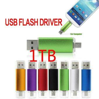 Harga Otg Dual Usb Micro Usb Flash Pen Thumb Drive Memory Stick Flash Driver Pendrive 1TB