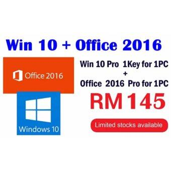 Harga Windows 10 Pro +Office 2016 Pro Plus