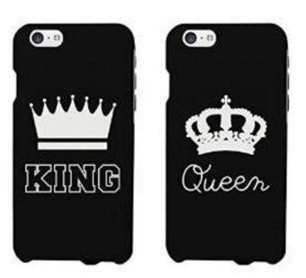 Harga King Queen Coque Cover Case for iPhone 4S 5 5S 5C SE 6 6S Plus-5 5s