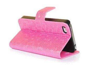 Harga Alcatel One Touch Idol X+ Glitz Cover Case - Pink