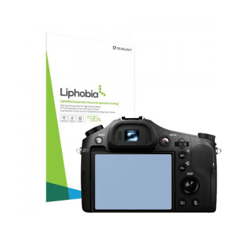 Harga Liphobia sony dsc-rx10 Hi Clear camera screen protector 2PCS anti-fingerprint guard clean