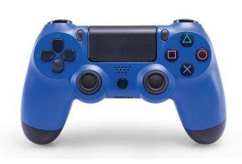 Harga leegoal PS4 Controller Wireless Controller For Sony PlayStation 4 Professional Dual Shock 4 Gaming Handle---Blue
