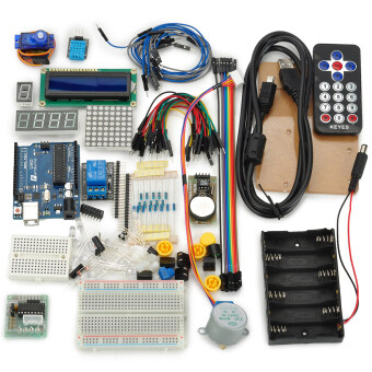 Harga Keyes keyes-2014 Starter Kit for Arduino Fans (White)