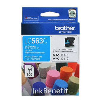 Harga Brother LC-563C Cyan Ink Cartridge For Brother : MFC-J2510,MFC-J2310,MFC-J3520,MFC-J3720