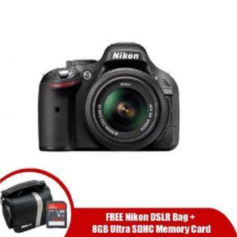 Harga Nikon D5200 18-55mm ( Warranty by nikon malaysia ) free: memory card + bag