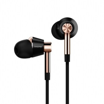 Harga Original Xiaomi 1MORE Three Drivers (Single Moving Coil + Dual Moving Iron) Smart Wired Control In-Ear Earphone Stereo Bass Ear Cup and MEMS Microphone for Xiaomi, iPhone, iPad, iPod, Samsung, HTC, Sony, Huawei and Other Audio Devices, Got Hi-Res Audio