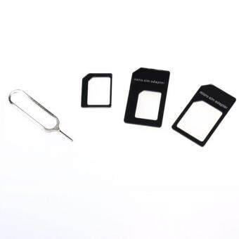 Harga Convert Nano SIM Card to Micro Standard Adapter For iPhone 5