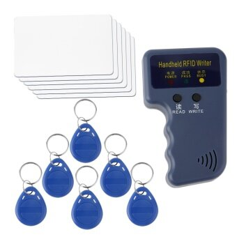 Harga ERA New Handheld RFID ID Card Copier/ Reader/Writer 6 Writable Tags/6 Cards