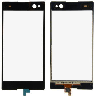 Harga Fancytoy Digitizer Lens Glass for SONY Xperia C3 D2533 D2502 (Black)