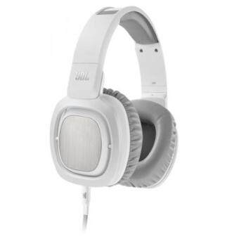 Harga JBL J88i Premium Over-Ear Headphones with JBL Drivers, Rotatable Ear-Cups and Microphone - White