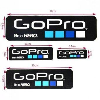 Harga MADPRO Gopro Be a Hero design Sticker set 4 size - Black Colour